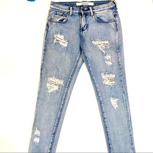 Brandy Melville Distressed Ripped Jeans size 26